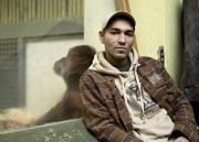 Portrait des Schauspielers und Musikers Raschid D. Sidgi im Zoo Dresden