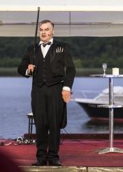 Georg-Kreisler-Abend mit Tom Quaas und Anna Böhm zu Gast beim 15. Seefestival in Wustrau.