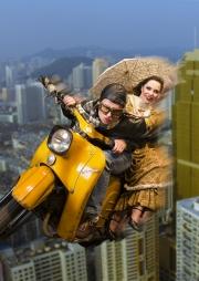 Mobilität - ein Theater-Spektakel, Plakatmotiv