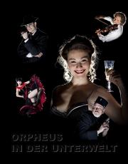 Orpheus in der Unterwelt, Plakatmotiv
