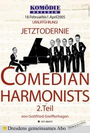 Plakat für die Komödie Dresden