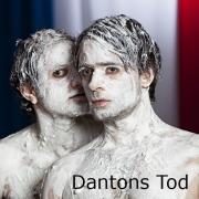 Plakatmotiv zu Dantons Tod