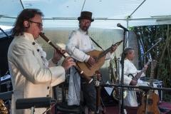 Musiker der Gruppe Horch